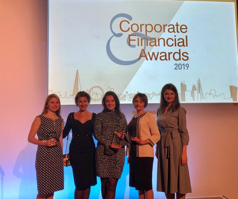 Corporate and Financial Awards